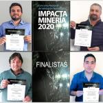 Finalistas del Concurso Nacional Impacta Minería 2020.
