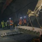 CNP realiza prueba piloto a novedoso pavimento modular para túneles mineros