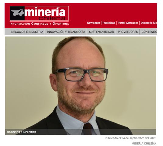 Mauro Valdés, director del CNP, habla en Minería Chilena.