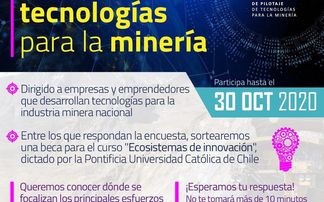 Encuesta de tecnologías para la minería CNP 2020