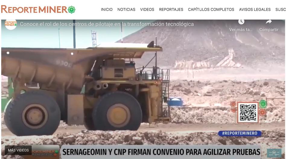 Reporte Minero: Sernageomin y CNP firman acuerdo estratégico para acelerar las nuevas tecnologías en la minería.